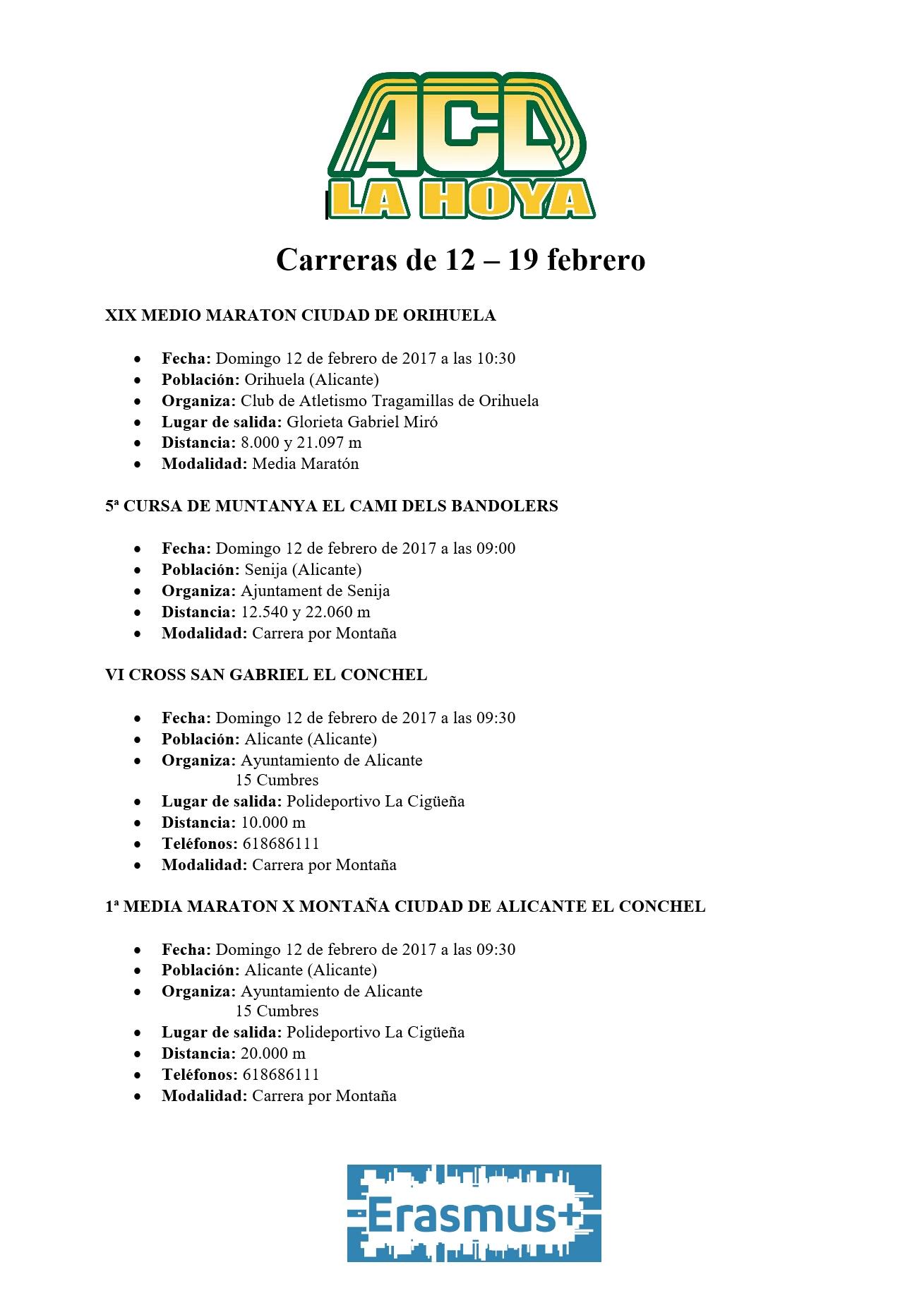 Carreras de 12 – 19 febrero (1)