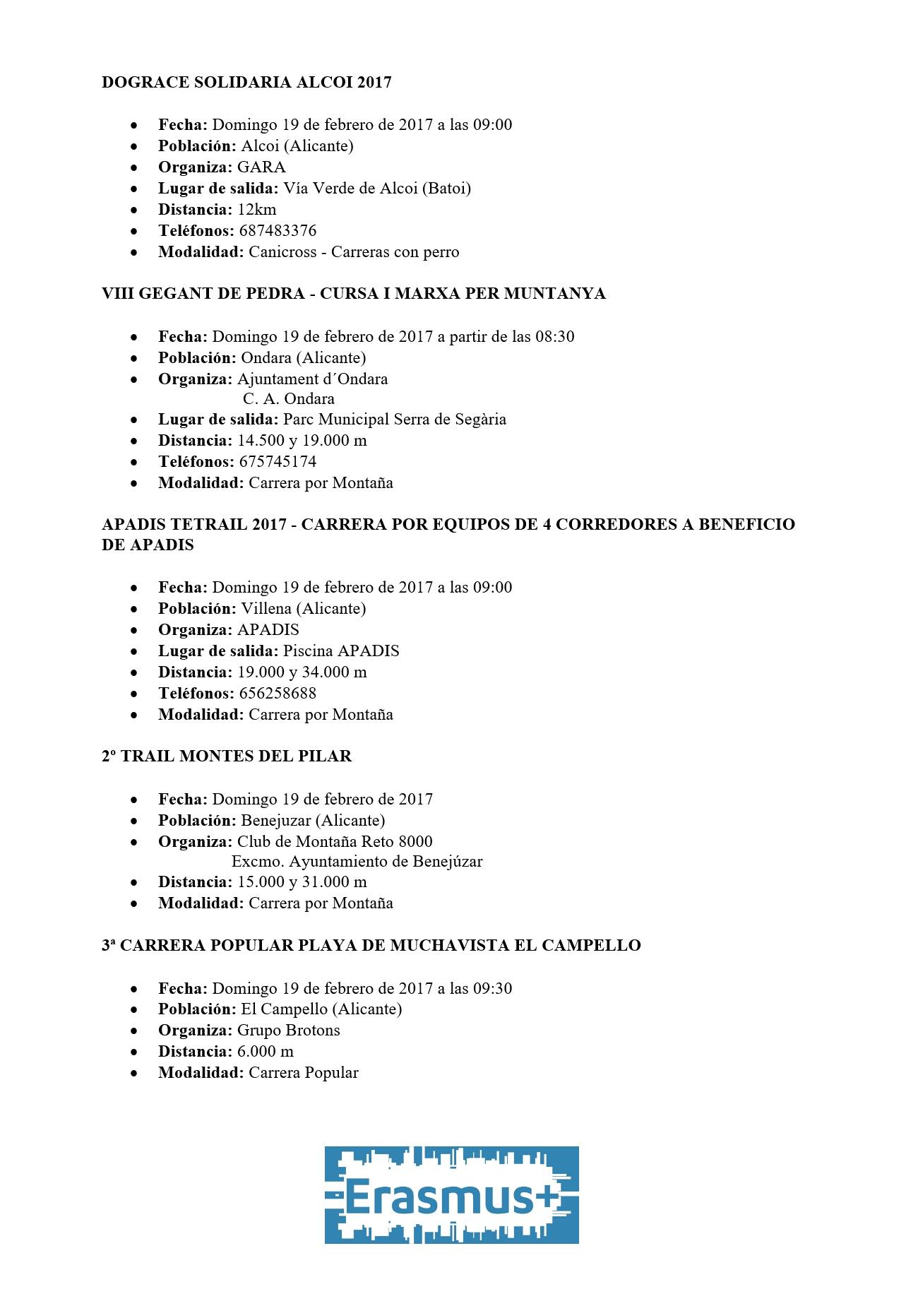 Carreras de 12 – 19 febrero (2)
