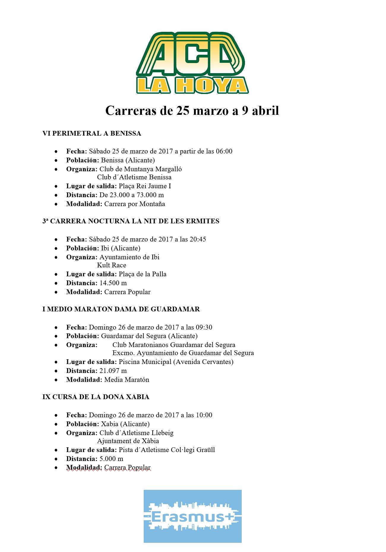 Carreras de 25 – 9 abril (2)