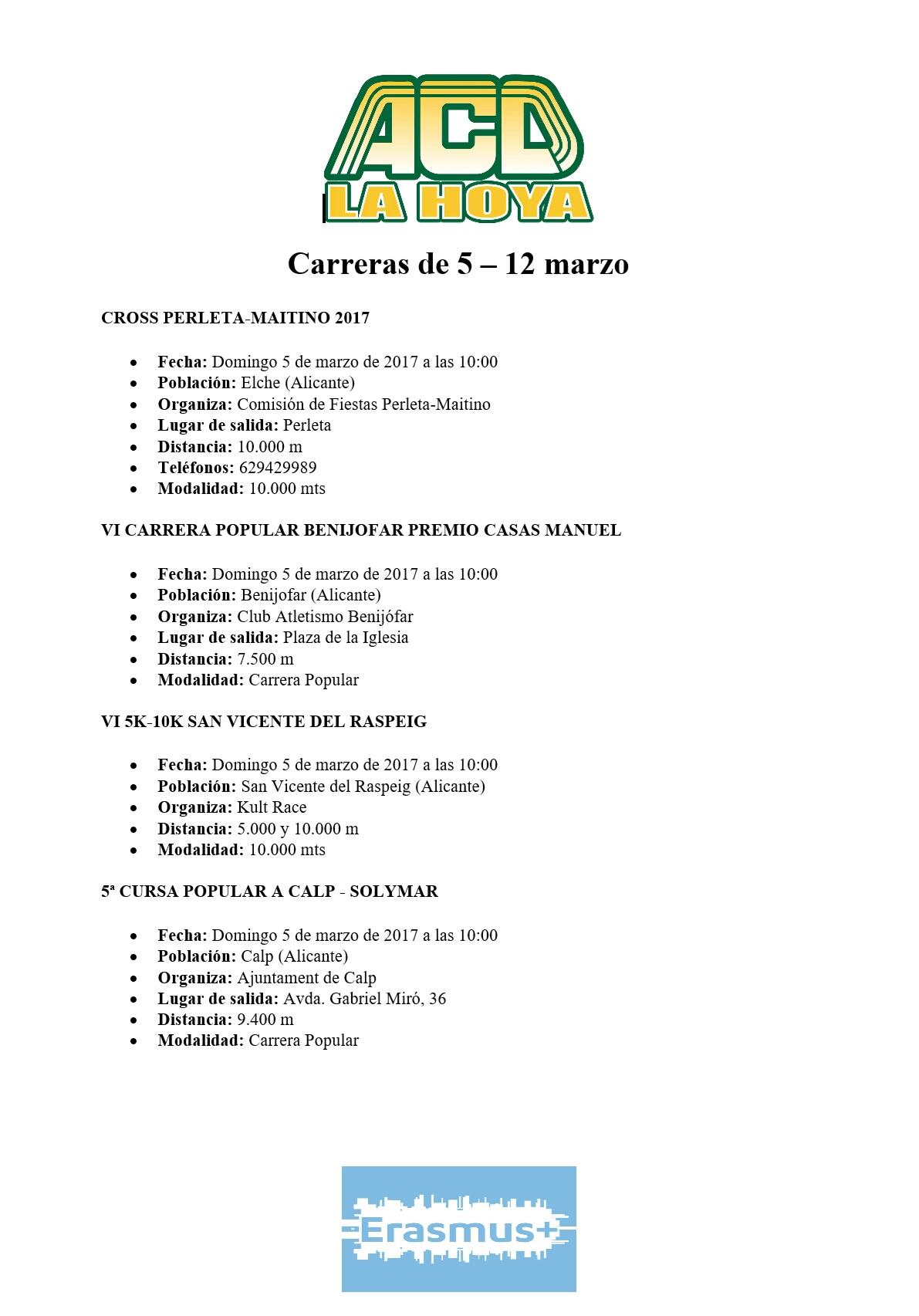 Carreras de 5 – 12 marzo (1)