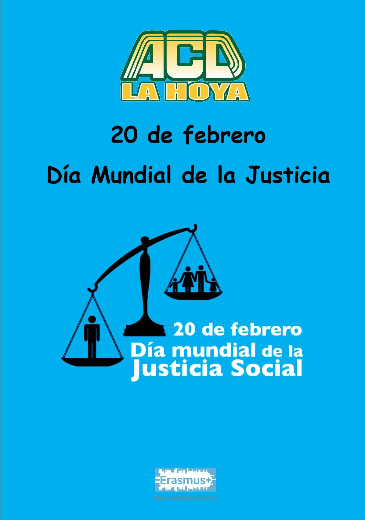 DÍA MUNDIAL de la Justicia